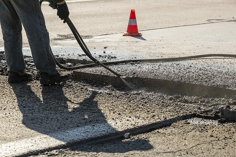 смесь для ремонта бетонных дорог
